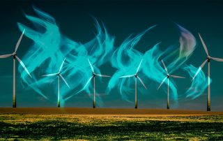 use of hydrogen for de-carbonisation
