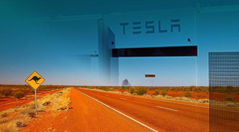 Tesla Australian battery project