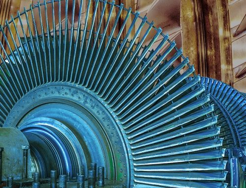 Synchronous condensers help stabilise the GB electricity grid