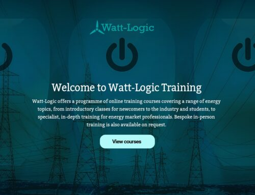 Welcome to the launch of Watt-Logic Training!